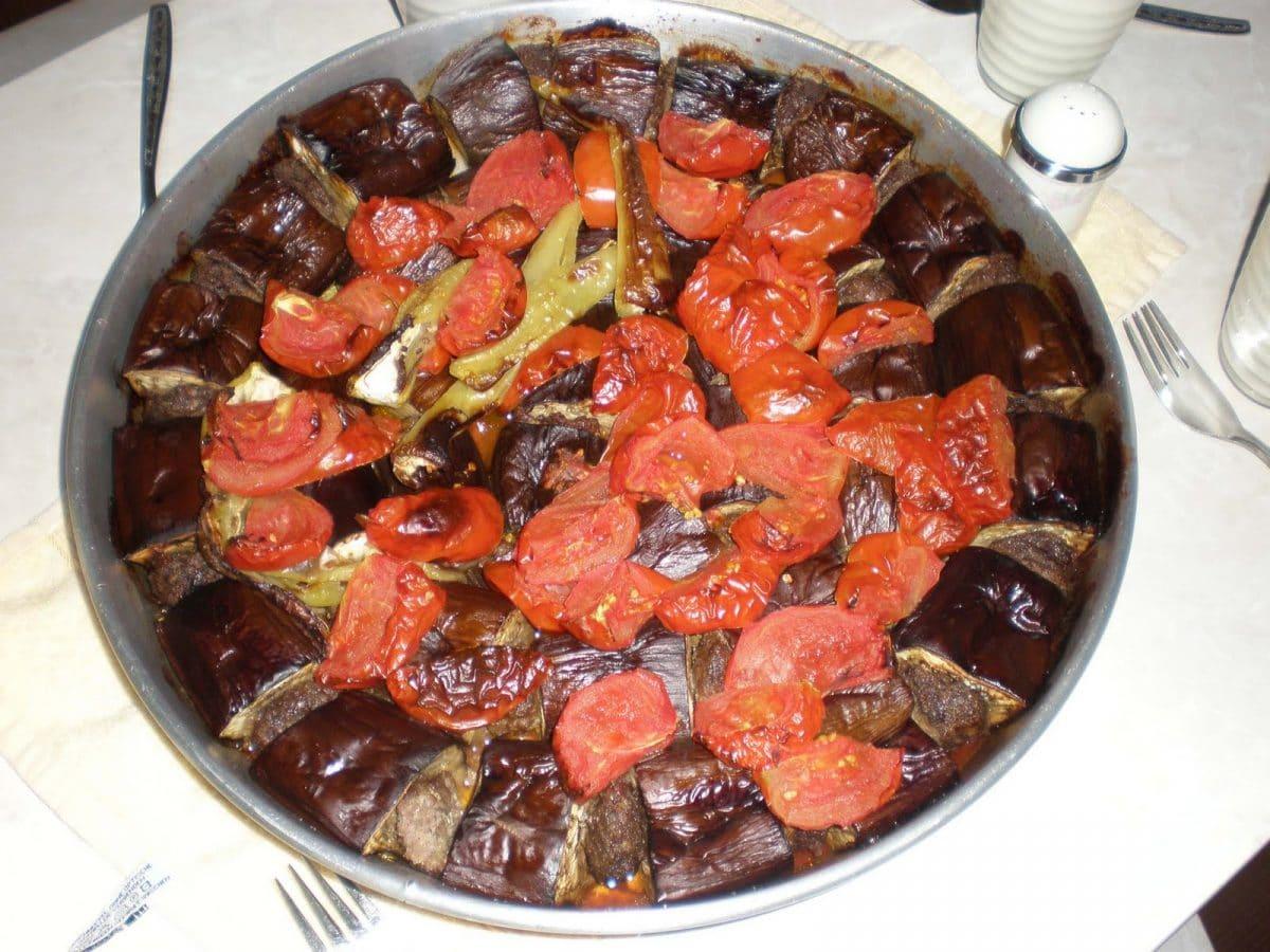 Fırında Patlıcan Kebabı