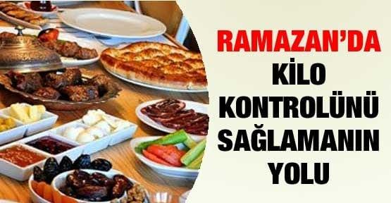 Ramazanda Kilo Almamak